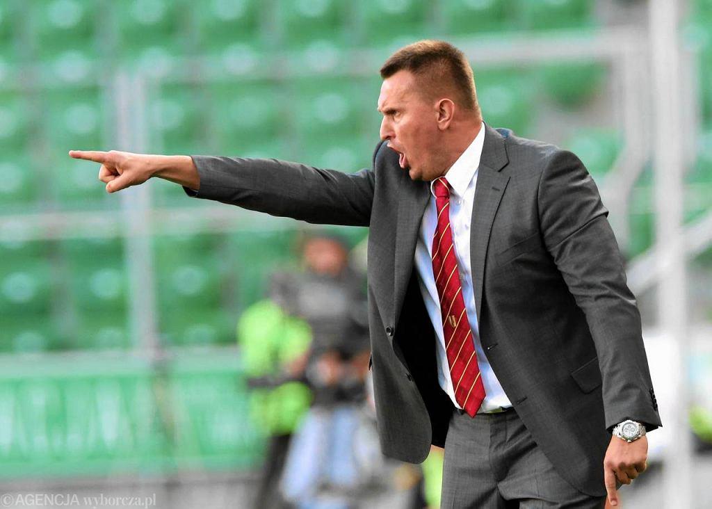 Były trener Korony Kielce Leszek Ojrzyński