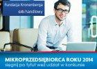 Konkurs na Mikroprzedsiębiorcę Roku 2014. Do wygrania spore pieniądze
