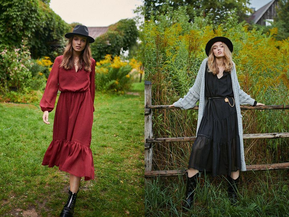 Sukienki boho jesień 2020