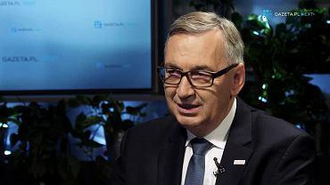 Wiceminister Stanisław Szwed