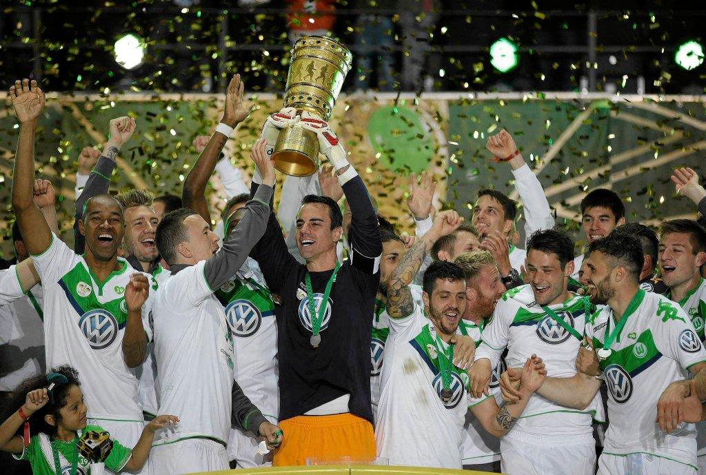 Wolfsburg z Pucharem Niemiec po raz pierwszy w historii