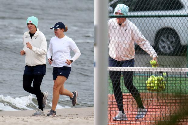 Iga Świątek po niesamowitym sukcesie postanowiła udać się na zasłużony odpoczynek. Paparazzi przyłapali młodą gwiazdę tenisa podczas treningu. Czyżby były to przygotowania do kolejnego turnieju?
