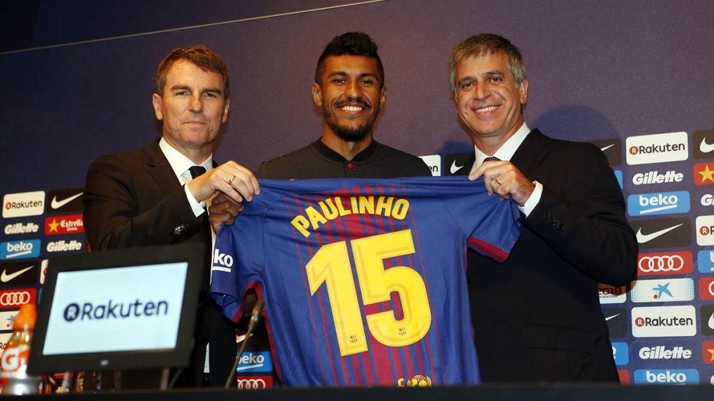 Paulinho w Barcelonie
