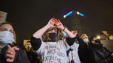 Strajk Kobiet w Lodzi