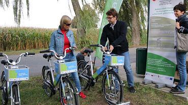 Inauguracja Sucholeskiego Roweru Miejskiego