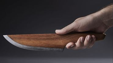 Drewniany nóż //SKID