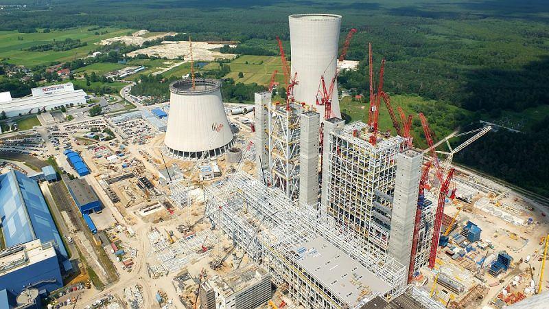 Bloki 5 i 6 opolskiej elektrowni