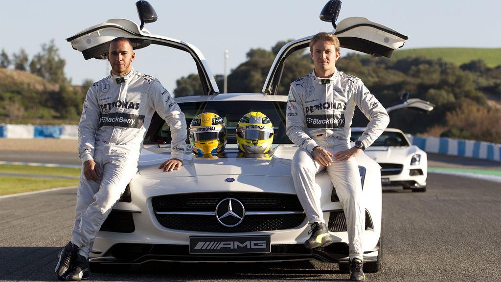 Lewis Hamilton i Nico Rosberg