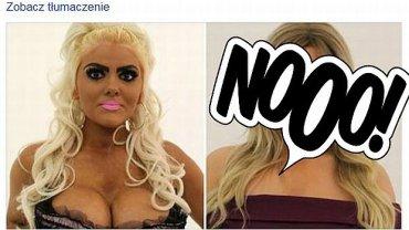 Jade z Bristolu - jak z Barbie zmieniła się w...