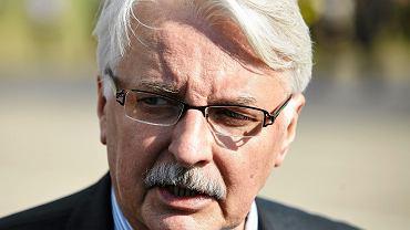 Witold Waszczykowski, były szef MSZ