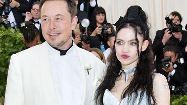 Grimes i Elon Musk na Met Gala 2018