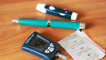 Glukometr do mierzenia poziomu cukru
