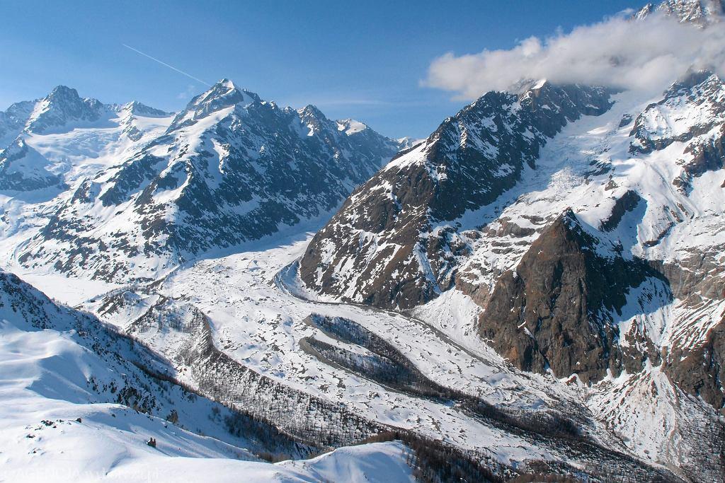 Włochy. Polak mieszkający we Francji zginął pod lawiną, która zeszła w Alpach