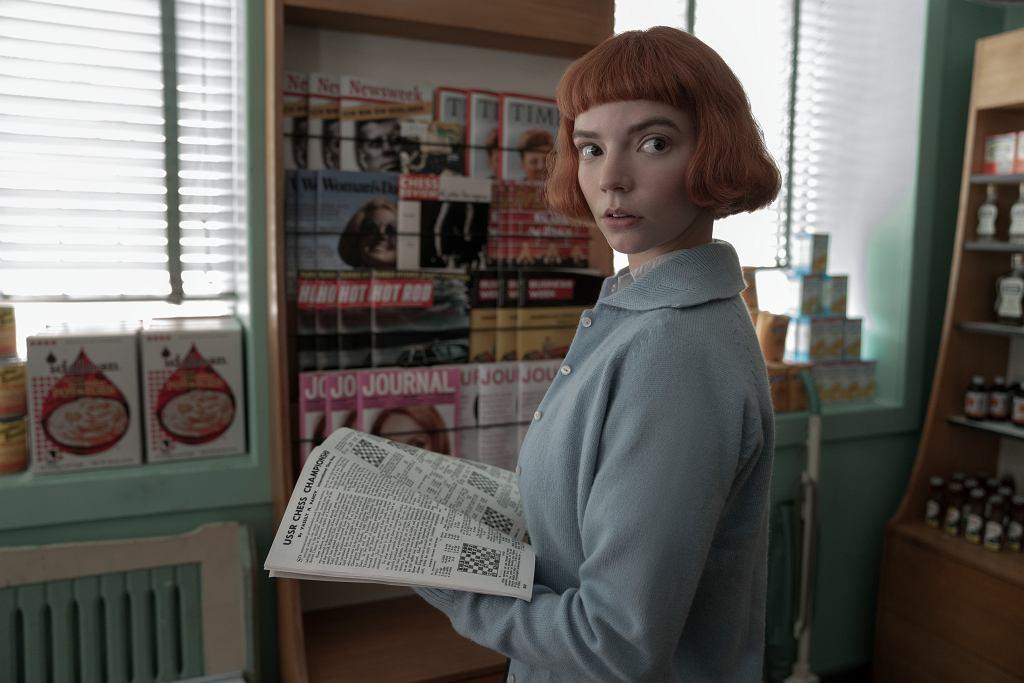 'Gambit królowej'. Anya Taylor Joy w roli Beth Harmon