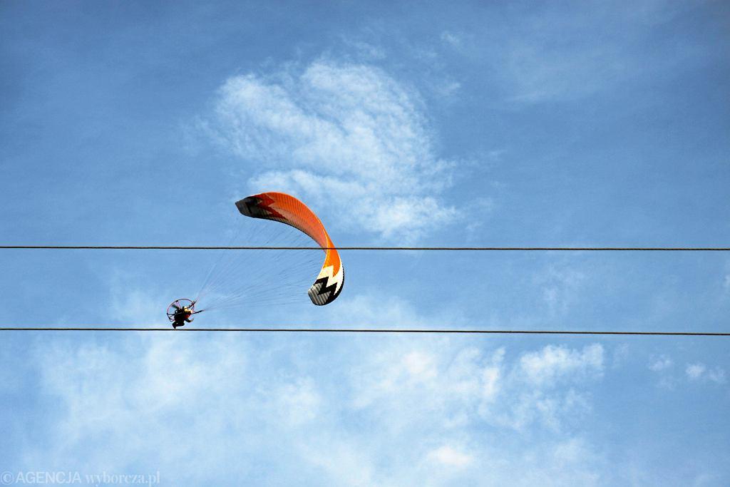 Paralotniarz (zdj. ilustracyjne)