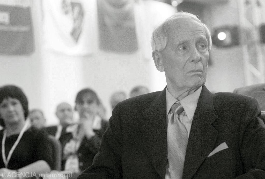 Zmarł Alfred Miodowicz.