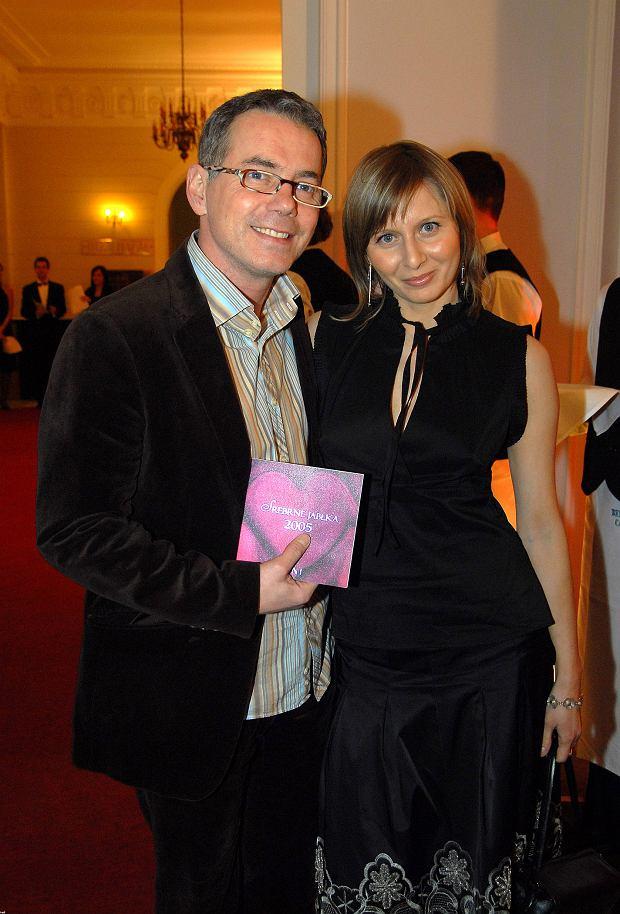 Robert Janowski z żoną Katarzyną
