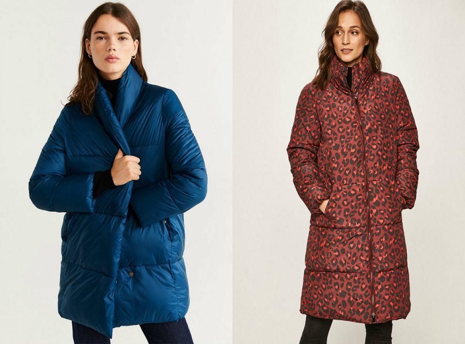 Pikowane kurtki damskie na zimę