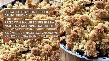Ania Starmach zdradza przepis na 'najlepszą kruszonkę na świecie'. Ważna uwaga na temat masła!