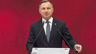 Prezydent RP Andrzej Duda .