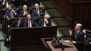 Sejm, I czytanie tzw. ustawy kagańcowej