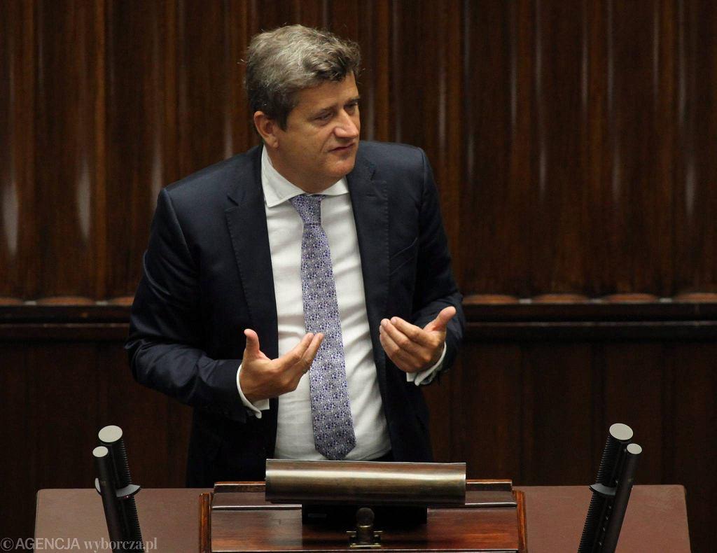 Janusz Palikot w Sejmie