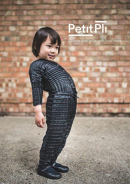 PETIT PLI: clothes that grow / materiały prasowe