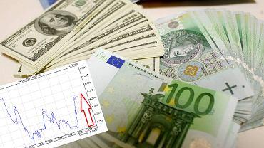 Kurs euro powędrował w górę