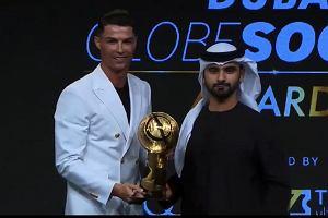 Cristiano Ronaldo najlepszym piłkarzem roku. Nagrodę odebrał na gali w Dubaju