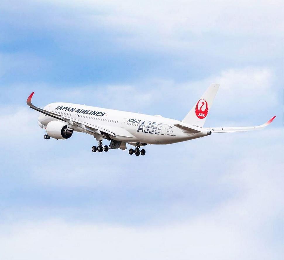 Samolot linii Japan Airlines