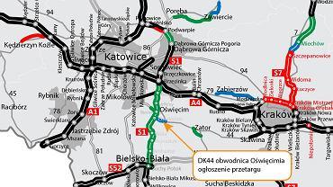 Generalna Dyrekcja Dróg Krajowych i Autostrad ogłosiła w poniedziałek przetarg na budowę ostatniego odcinka trasy S1 z Bielska-Białej do Mysłowic, którym będzie obwodnica Oświęcimia