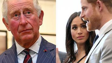 Książę Karol / Meghan Markle i książę Harry