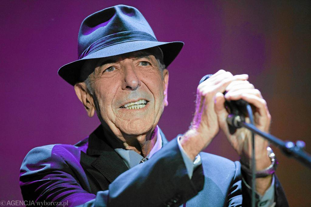 Leonard Cohen w Atlas Arenie, lipiec 2013