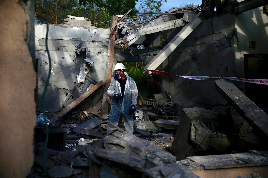 Atak rakietowy na Izrael. Sześć osób rannych. Premier Netanjahu skraca wizytę w USA