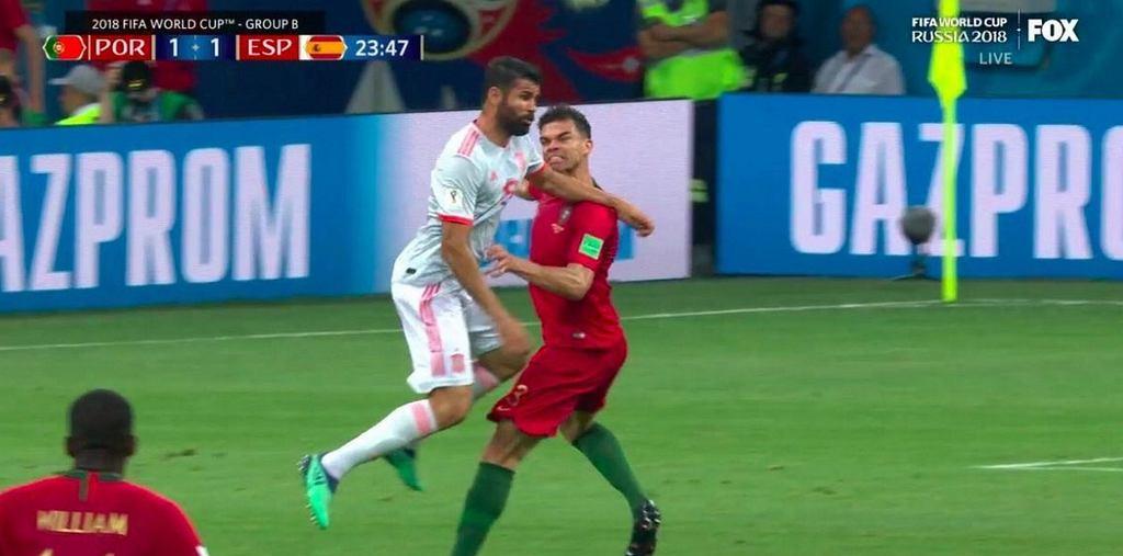 Costa atakuje Pepe