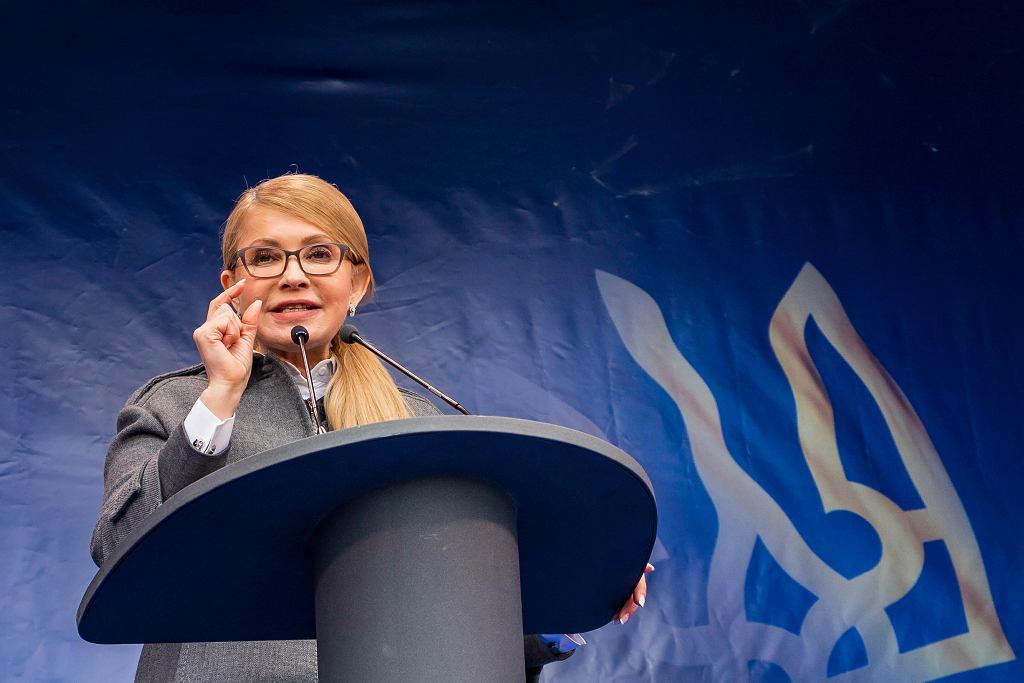 Julia Tymoszenko, kandydatka na prezydenta Ukrainy