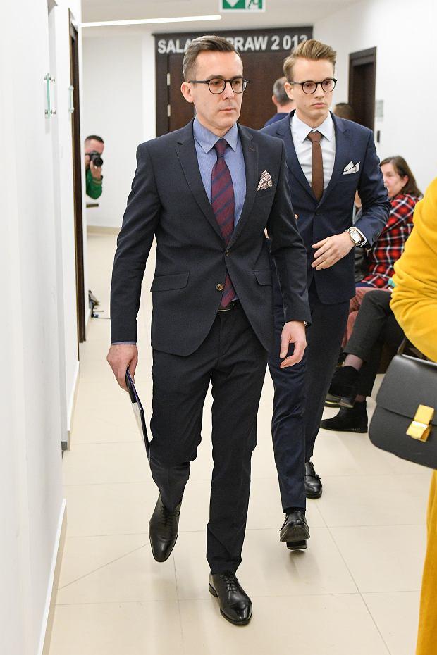 Maciej Kurzajewski z synem