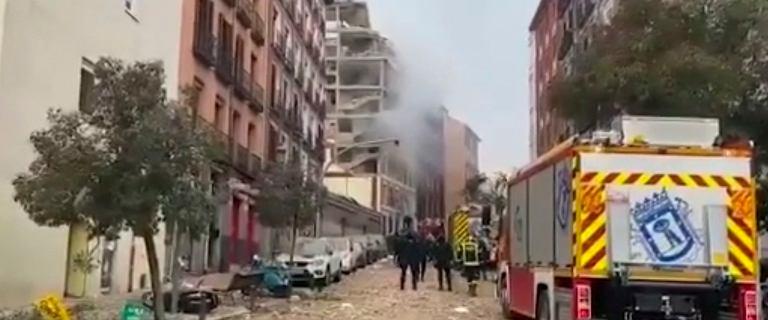Hiszpania. Wybuch w centrum Madrytu. Są ofiary śmiertelne