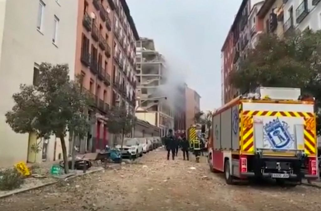 Madryt - eksplozja