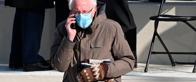 """Swobodny strój Sandersa na inauguracji Bidena. """"Chciałem się ubrać ciepło"""""""
