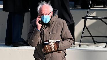 Bernie Sanders na zaprzysiężeniu Joe Bidena