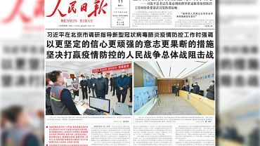 Chiny. Xi Jinping znów pokazuje się publicznie. W maseczce. Koronawirus uderzy w gospodarkę