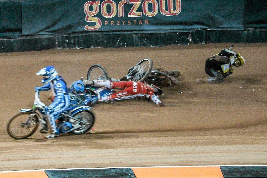 Wypadek Tomasza Golloba na GP Skandynawii