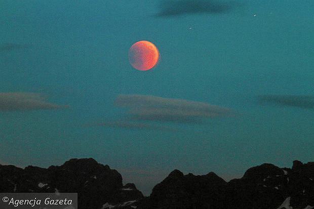 Zaćmienie księżyca - kiedy nastąpi?