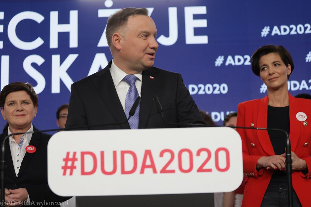 Prezentacja sztabu Andrzeja Dudy