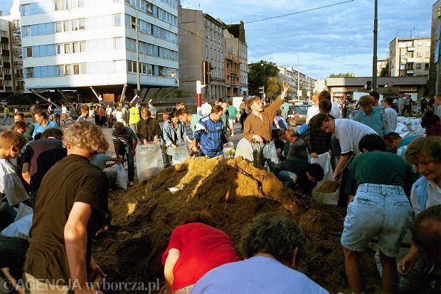 Zdjęcie numer 35 w galerii - 17 lat temu Odra zalała Wrocław. Tak wyglądało miasto [FOTO]