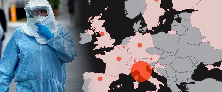 Koronawirus. W Chinach mniej nowych zakażeń, duże ogniska w Korei i Włoszech