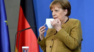 Angela Merkel chce stopniowo łagodzić ograniczenia antyepidemiczne