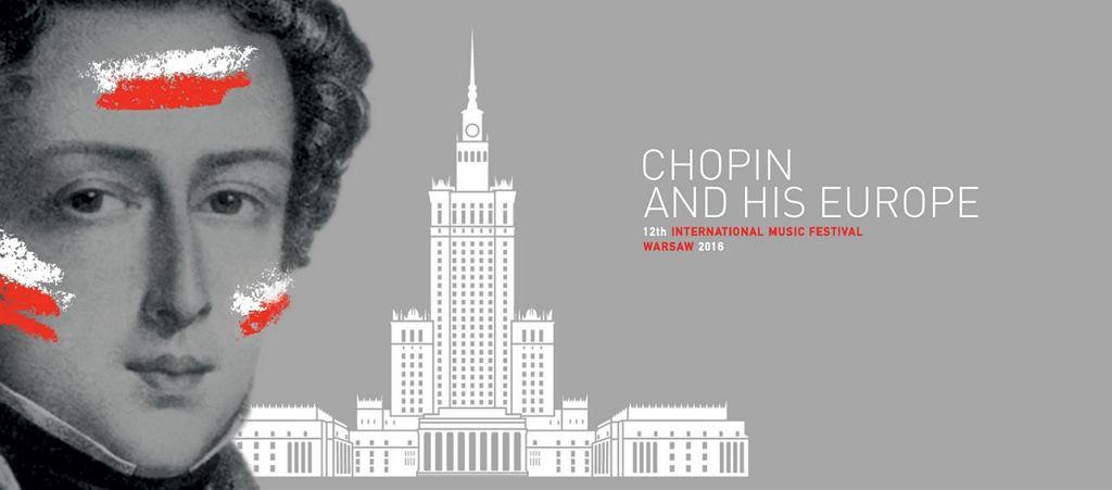Charakterystyczny profil Fryderyka Chopina zostanie wyświetlony na elewacji Pałacu Kultury i Nauki od strony ulicy Marszałkowskiej.