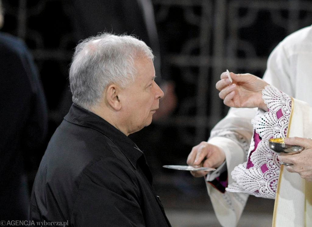 Gdzie jest Jarosław Kaczyński? Prezesa PiS widziano na niedzielnej mszy